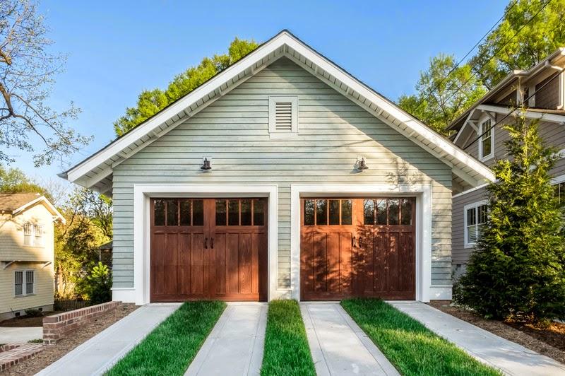 Hogares frescos 28 proyectos al aire libre que todos for 14 wide garage door