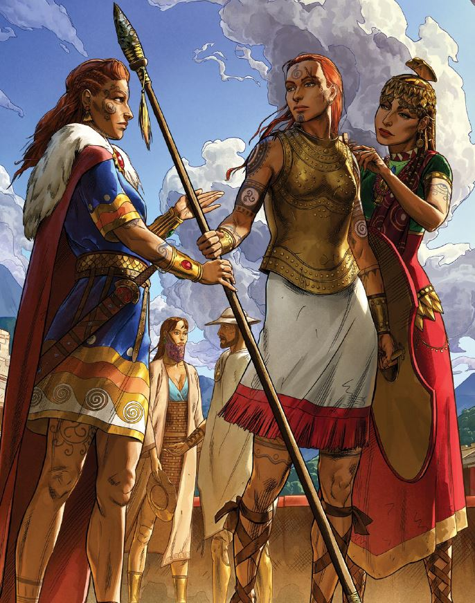 Realms of Chirak: Runequest: Roleplaying in Glorantha is now