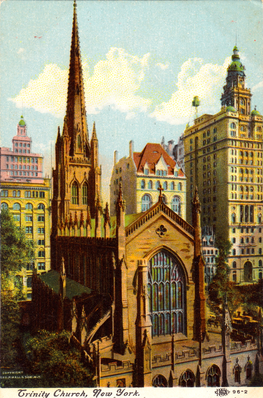 NYC Vintage: Trinity Church: An Historic Legacy Of Very