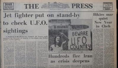 Misteri Cahaya UFO Kaikoura Masih Menjadi Intrik