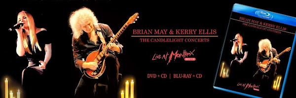 The Candlelight Concerts - Live At Montreux 2013 (DVD/Blu-ray) Kerry Ellis y Brian May