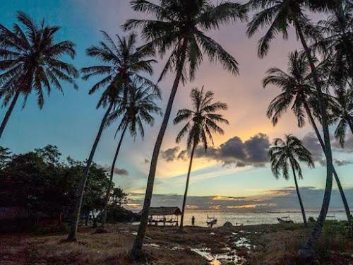 Tanjung Lesung Beach Banten Indonesia