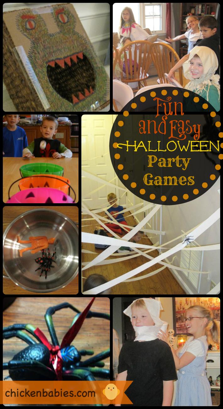 Chicken Babies: Top 10 Halloween Party Games