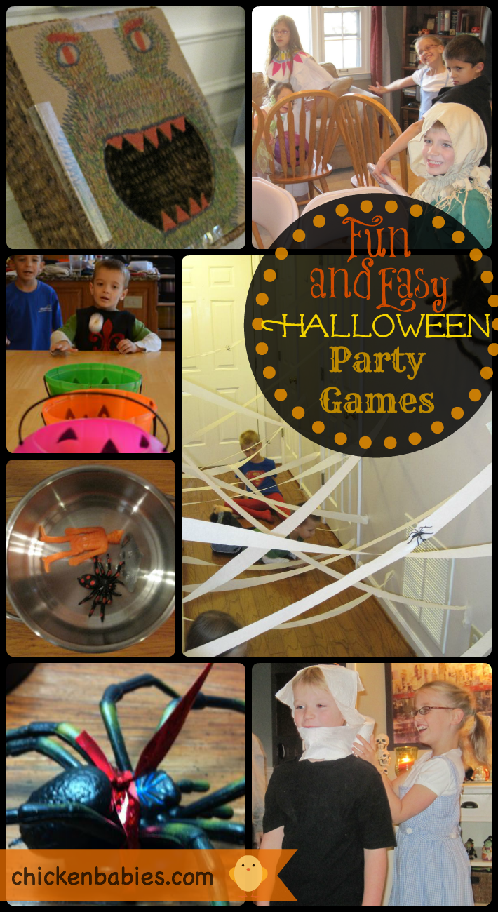 Chicken Babies Top 10 Halloween Party Games