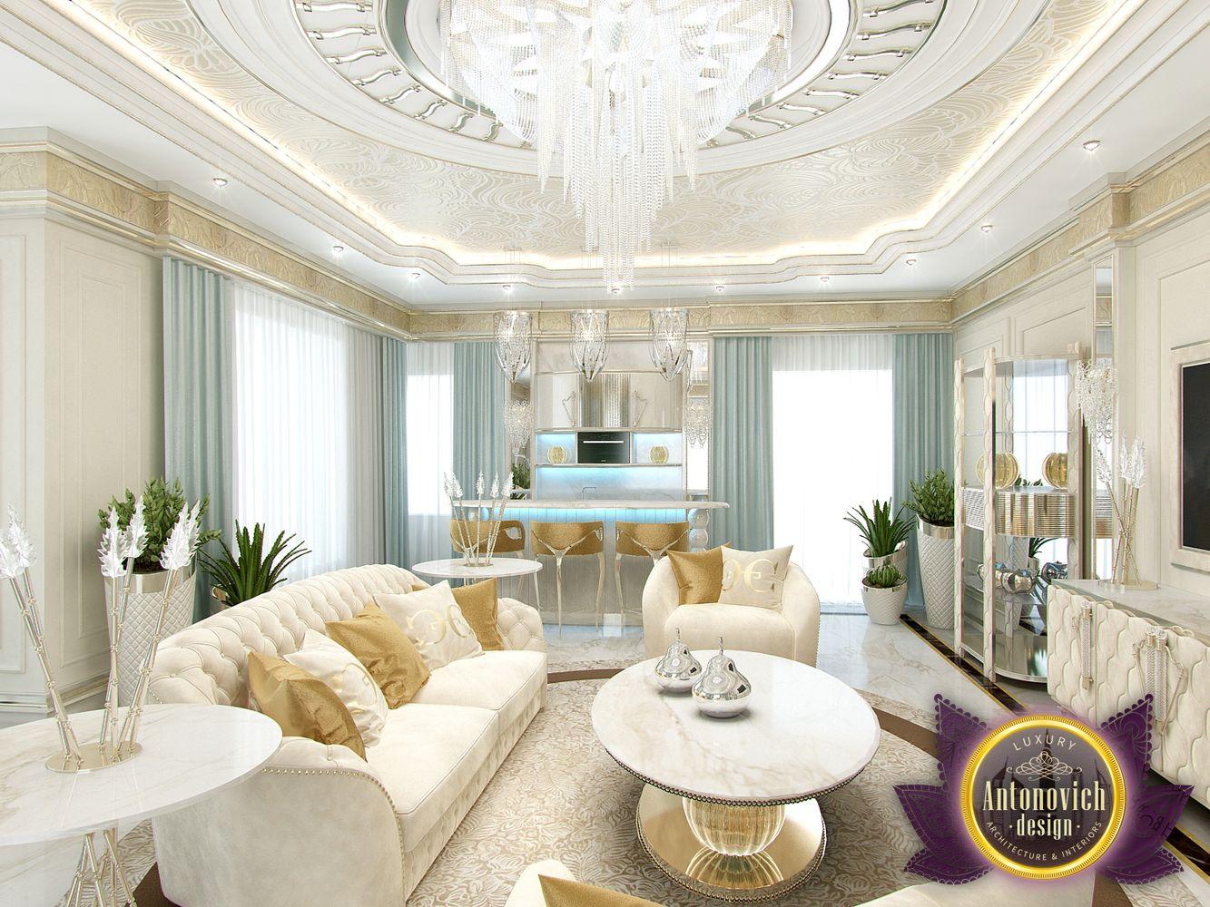 Luxury antonovich design uae sitting room interior by luxury antonovich design - Interior sitting rooms ...