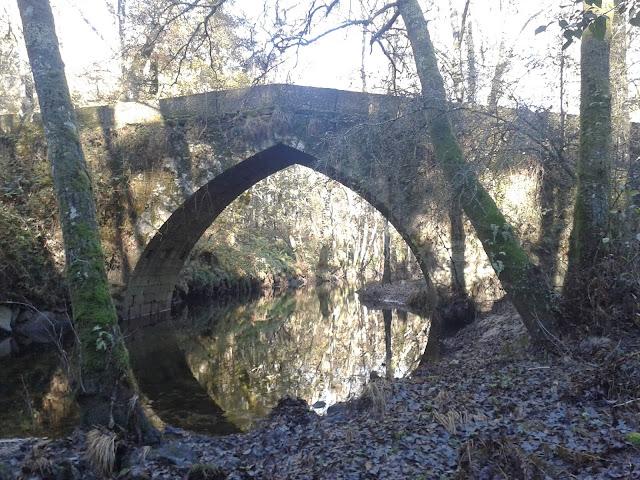 Puente de San Fiz en Amoeiro
