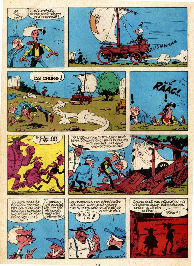 Lucky Luke tap 3 - doan lu hanh trang 6