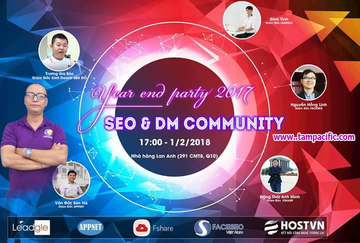 SEO & Digital Marketing Community - Year end Party 2017