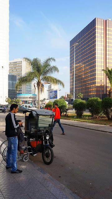 Изображение бульвара Зее У Ма в Касабланке, Марокко