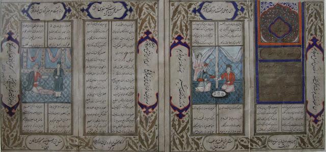 Ouzbékistan, Tachkent, Musée National des Beaux Arts, miniature, manuscrit, © L. Gigout, 2012
