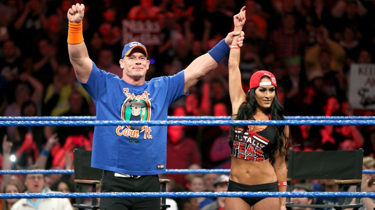 John Cena Teaming Up With Nikki Bella At Upcoming WWE Live Event ...