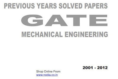 R K Kanodia Gate 2001-2012 subject vice Topic vice solution - Mechanical ( all subject, 586 pages)