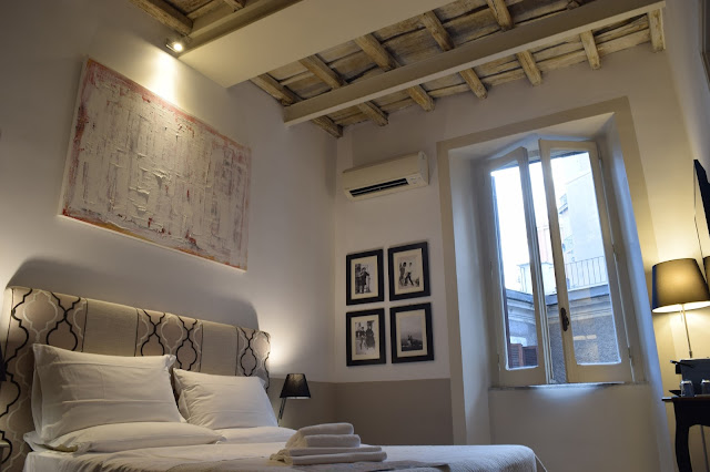 boutique hotel rooms rome