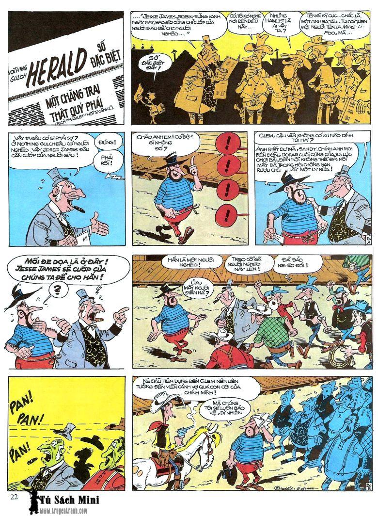 Lucky Luke tap 16 - jesse james hiep si rung xanh trang 24
