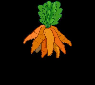 clipart gambar seikat wortel