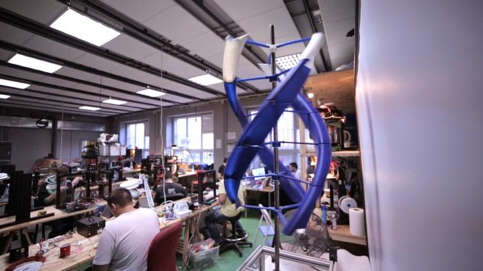 DIY 3D Printing: AirEnergy3D DIY wind power generator you