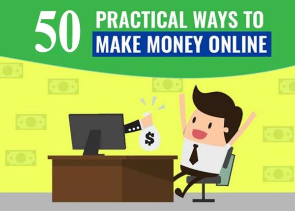 How to Make Money Online in 2018 with 50 Examples
