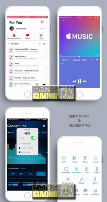 Feature Tema MIUI Seperti Iphone IOS Alakadarnya V11.2