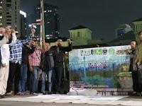 Pemuda Dan Mahasiswa Islam DKI Jakarta Gelar Yasinan Dan Doa Bersama Didepan Balai Kota, Ada Apa?
