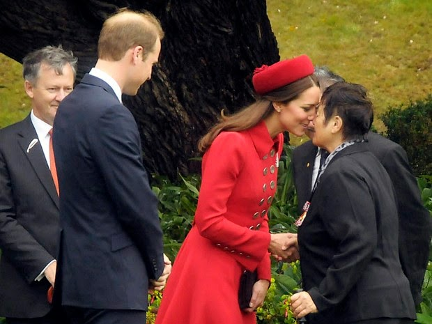 Prince William and Kate Middleton in Wellington, New Zealand