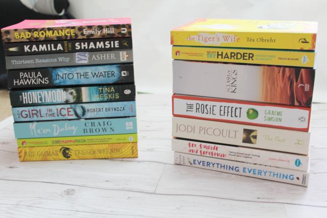 Summer book haul - www.nourishmeblog.co.uk