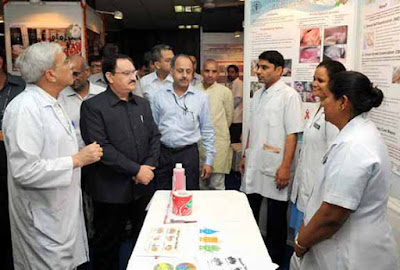 J P Nadda, Union Health Minister J P Nadda, 60th Institute Day Celebrations, All India Institute of Medical Sciences, AIIMS New Delhi, Diamond Jubilee Celebrations at AIIMS