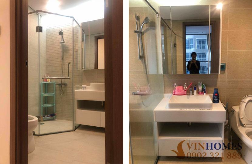 Cho thuê căn hộ 2PN tòa P4 tầng trung khu đô thị Vinhomes - hinh 5