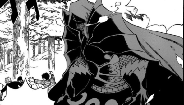 Bloodman - Anggota Spriggan 12 di Anime Fairy Tail