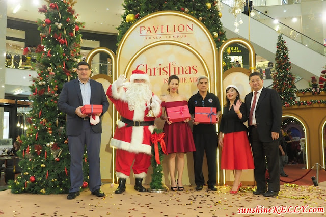 Christmas Is In The Air, Christmas 2017 decor, Pavilion KL