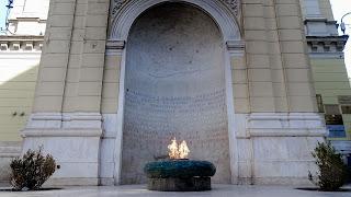Vječna vatra is a memorial from the war