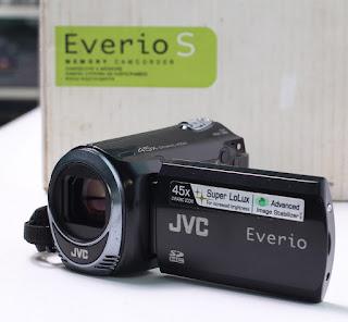 Handycam bekas JVC GZ-MS110