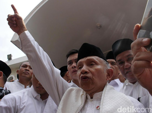 Jelang Diperiksa, Amien Rais Minta Tito Karnavian Dicopot
