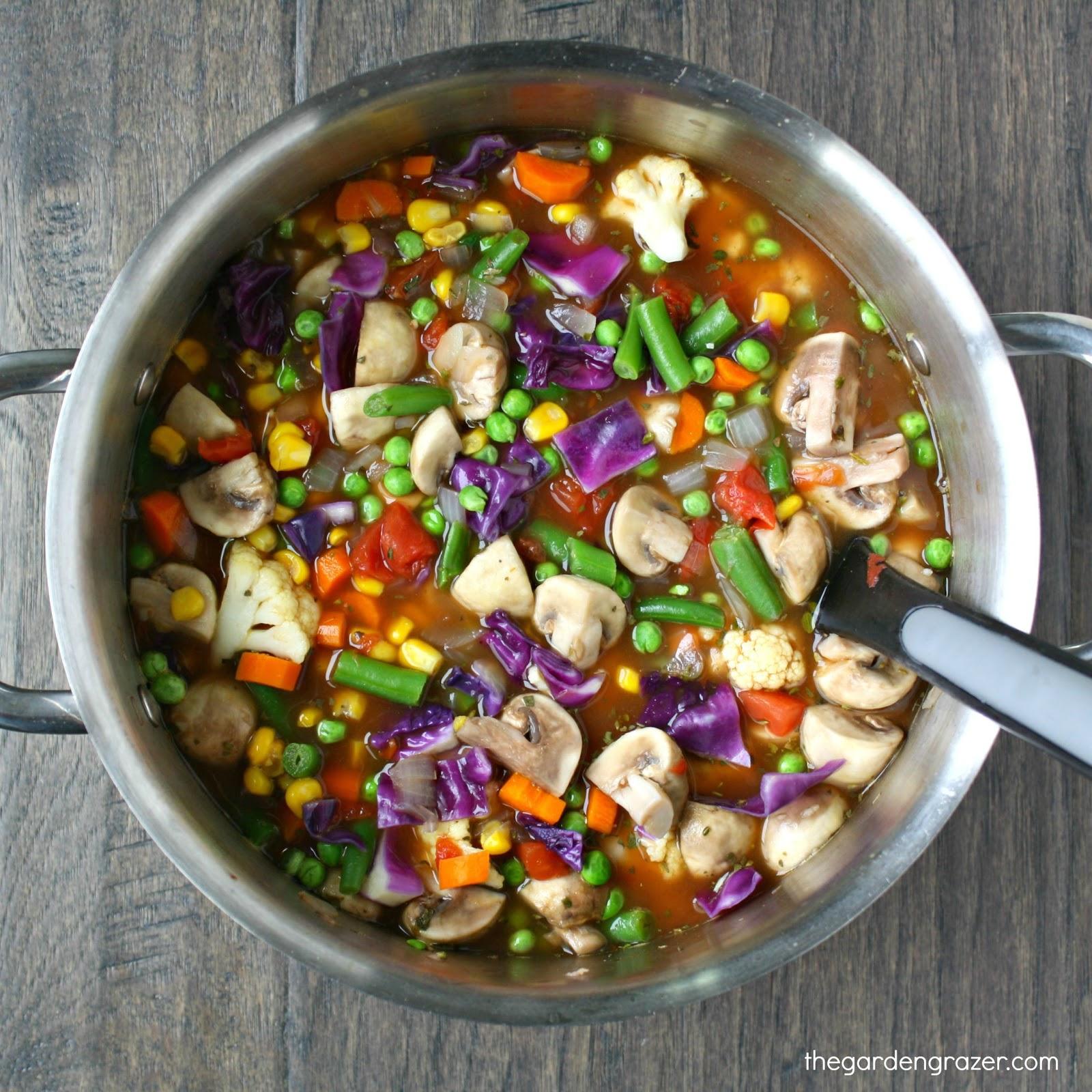 The Garden Grazer: 10 Easy, Healthy Vegan Soups