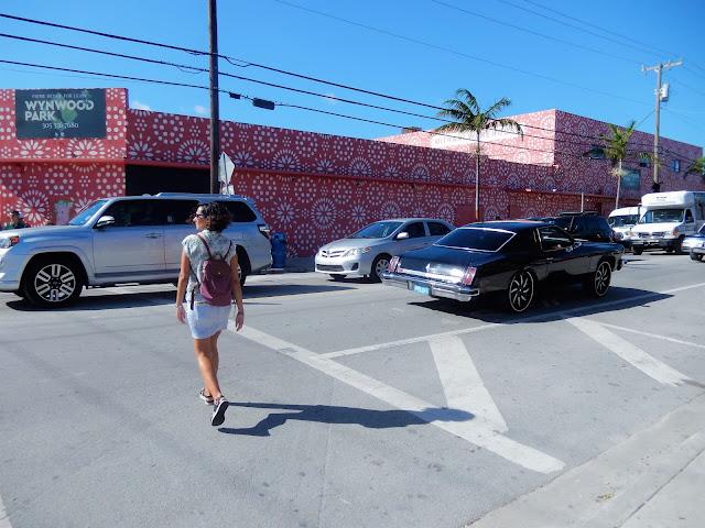 Calle de la zona de Wynwood Miami