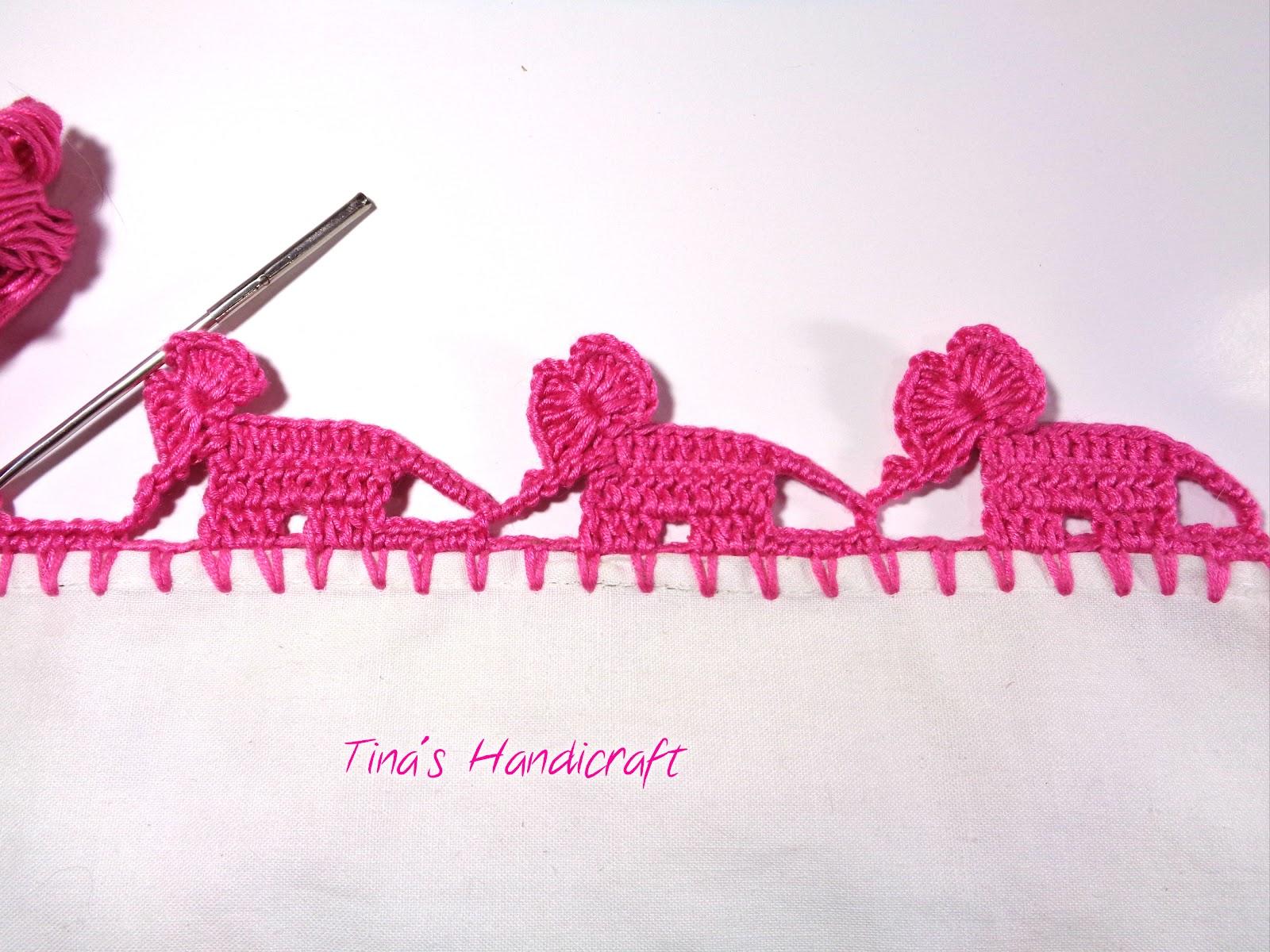 How To Crochet Elephant Edging - Pretty Ideas   1200x1600