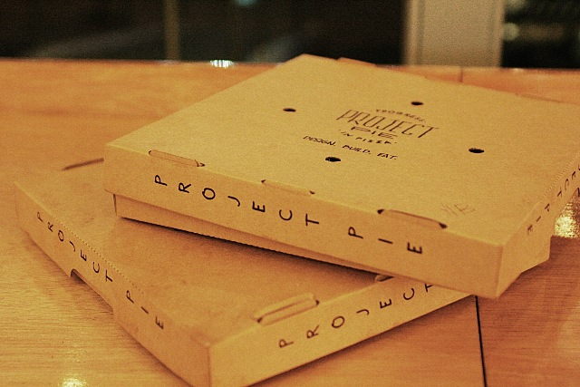Project Pie Manila To-Go Pizza Boxes