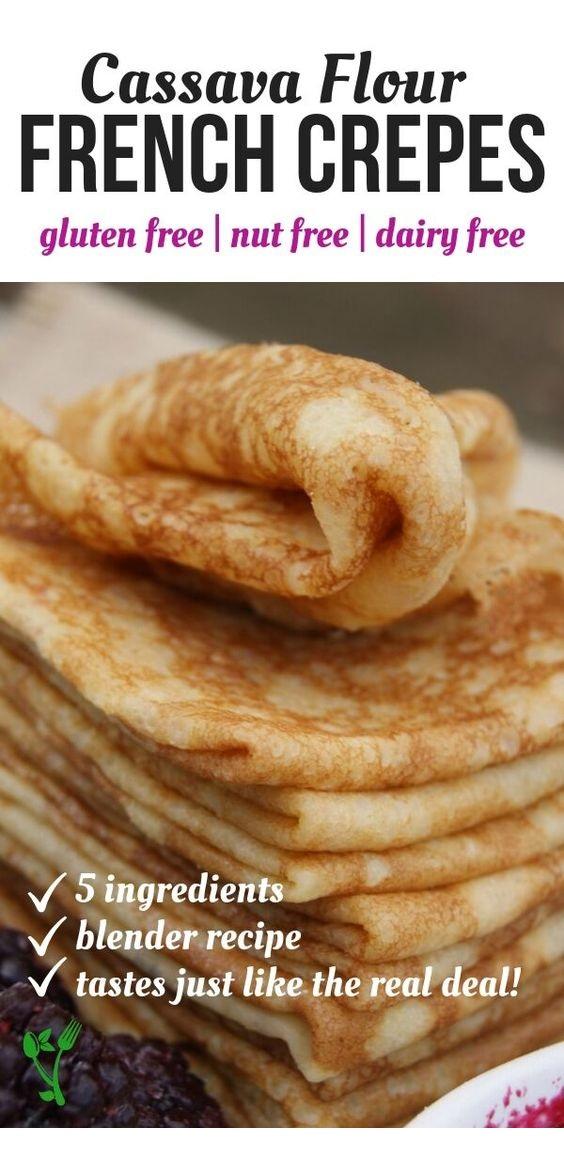 Grain-Free French Crêpes Recipe