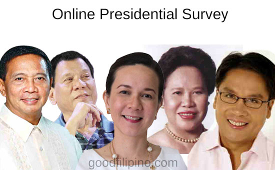 Sexy girl group leader shares 'online survey' for the 2016 Elections