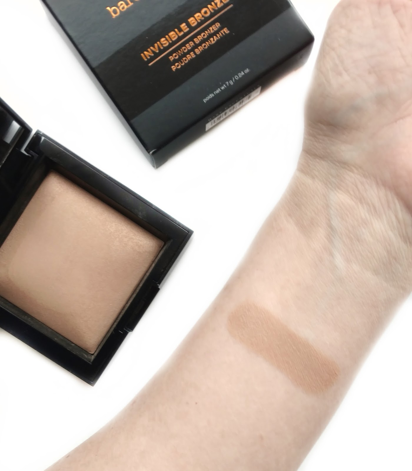 Bareminerals Invisible Bronze Powder Bronzer Review Swatches