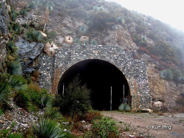 The Road To Nowhere features two abandoned tunnels, built as an escape route in the event of a nuclear strike.