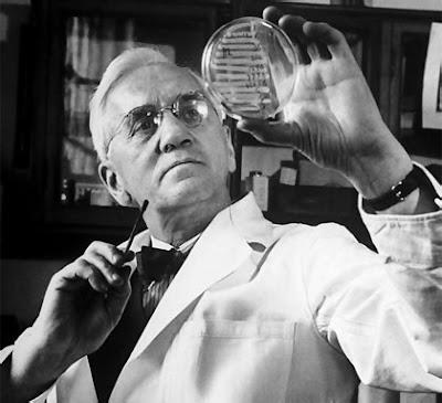 Autor de la penicilina, Fleming