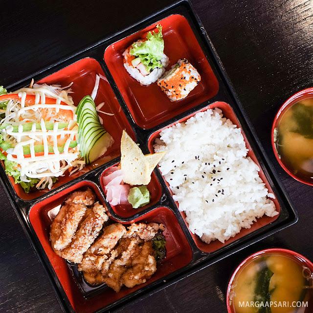 Chicken Teriyaki Bento Sushi Nobu (Shabu Nobu)