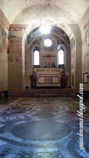 capela sao silvestro guia portugues - Afrescos Medievais da Capela de São Silvestre