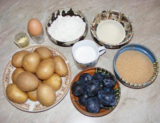 retete cu prune cartofi faina gris oua pesmet si zahar, retete culinare, cum facem galuste cu prune sau gomboti,