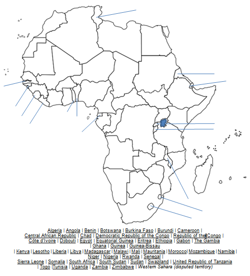 DSST: Discover Social Stus Then/Today/Tomorrow: Map from ... on blank map of horn of africa, blank map of rodrigues, blank map of latvia, blank map of sao tome and principe, blank map of francophone africa, blank map of us virgin islands, blank map of u.s.a, blank map of commonwealth of independent states, blank map of tortola, blank map of western sahara, blank map of comoros, blank map of palau, blank map of central african republic, blank map of russian federation, blank map of asia region, blank map of st martin, blank map of the czech republic, blank map of kosovo, blank map of gabon, blank map of togo,