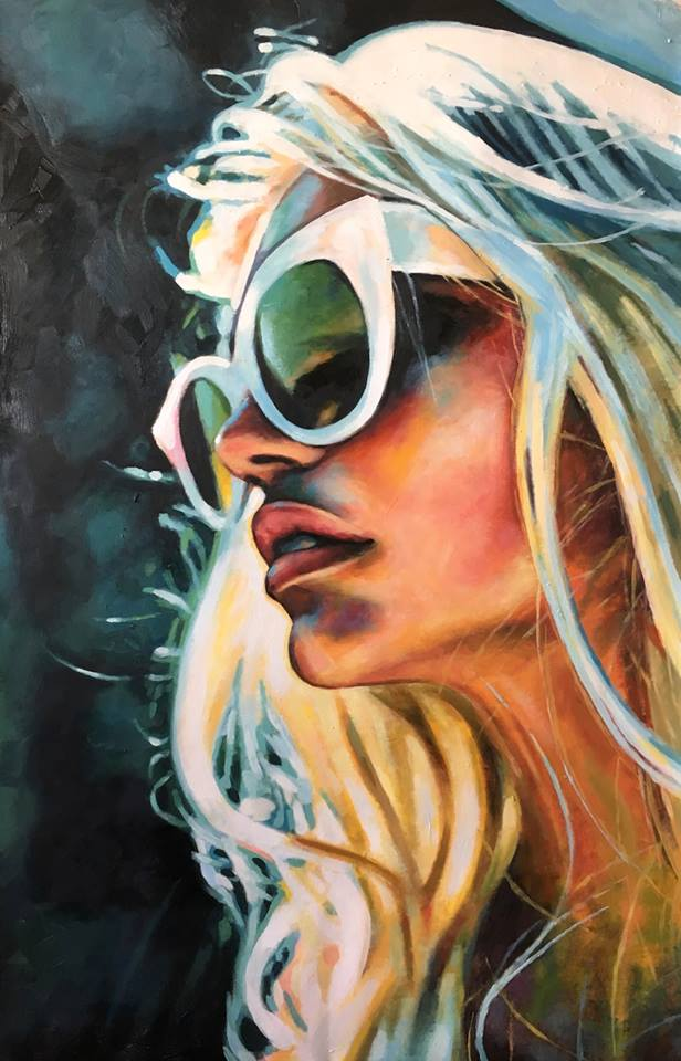 Art of the Day - Thomas Saliot #ArtoftheDay #ThomasSaliot #ToyasTales #toyastales #fashionblogger #whitesunglasses www.toyastales.blogspot.com
