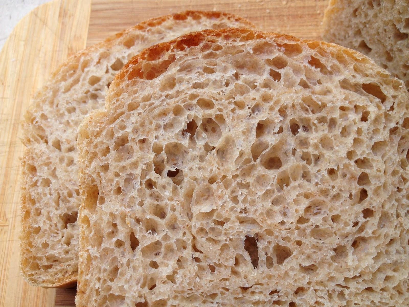 Receta pan de molde harina integral