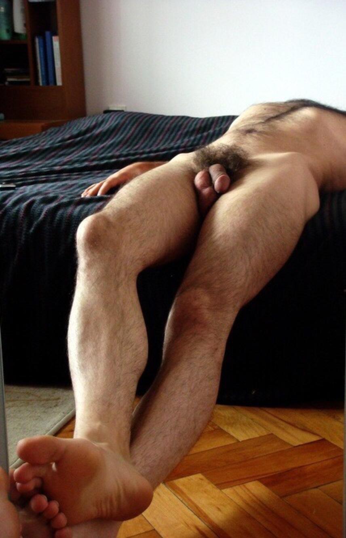 Gay naked feet