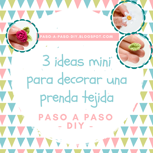tres Ideas Tejidas para decorar