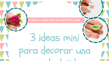 3 Ideas Mini para Decorar una Prenda tejida